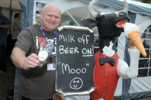 Mark & Moo at the Beer Fest